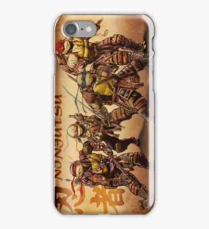 TMNT NINJUTSU iPhone Case/Skin