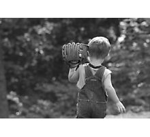First Glove Photographic Print