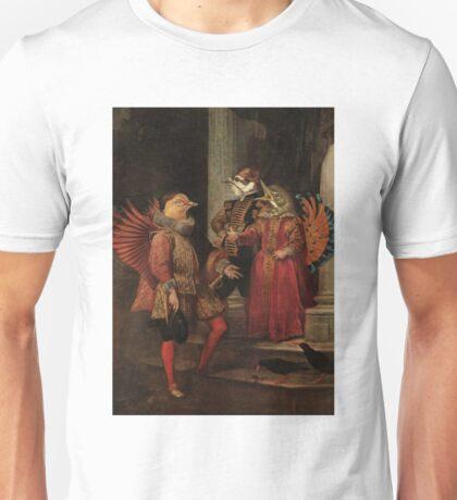 Strange Encounters by David Powell Unisex T-Shirt