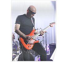 Joe Satriani Live & Kicking Poster