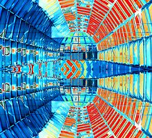 Abstract #1 - Mirrored Glass by Andy Harris