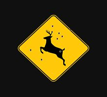 Deer crossing sign 2 Unisex T-Shirt