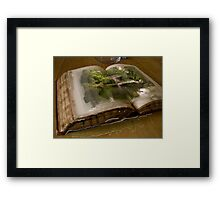 The Picture Book Framed Print