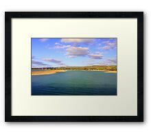 Champion Lake - Afternoon  Framed Print