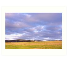 Champion Lake Foothills Art Print