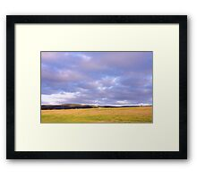 Champion Lake Foothills Framed Print