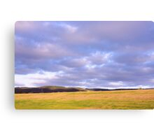 Champion Lake Foothills Canvas Print