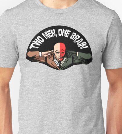 Two Men One Brain Unisex T-Shirt