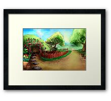 Home Sweet Shire Framed Print