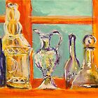 Matisse's bottles by christine purtle