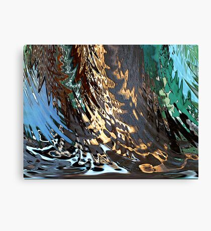 Woodsy Damp Canvas Print