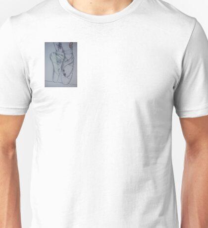 tattooed ballerina Unisex T-Shirt