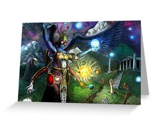 The Galactic Aura Greeting Card