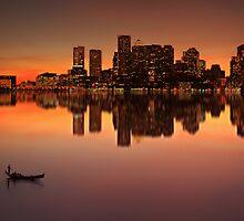 Twinlight light downtown view by pzhbob
