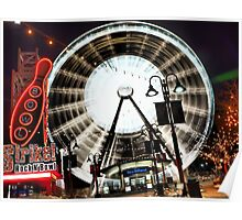 sky wheel Poster