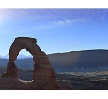 Delicate Arch in Moab Photographic Print