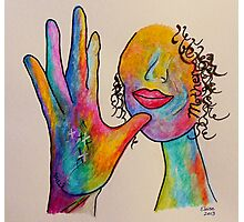 MOTHER - American Sign Language ASL Photographic Print