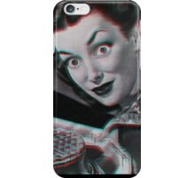 Creepy Vintage 3D Waffle Lady  iPhone Case/Skin