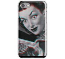 Creepy Vintage 3D Waffle Lady  iPhone Case/Skin