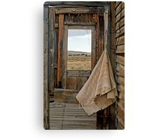 Porch Window Bodie Ghost Town Canvas Print