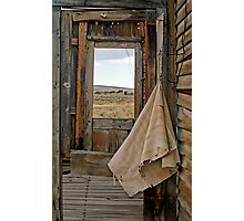 Porch Window Bodie Ghost Town Photographic Print
