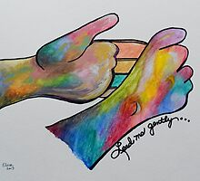 Lead Me Gently - American Sign Language by EloiseArt