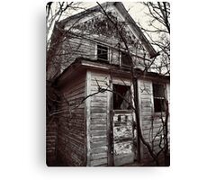 Nobody Home Canvas Print