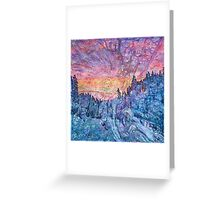 Hyperborean Landscape 2 Greeting Card