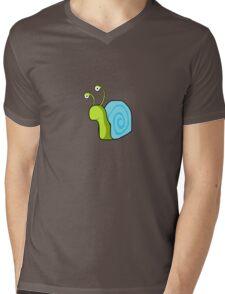 Snail guy Mens V-Neck T-Shirt