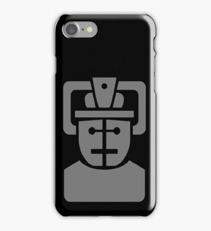 Telos Cyberman Tomb Logo iPhone Case/Skin
