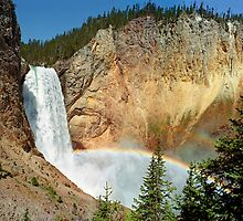 Yellowstone's Lower Falls by Mark Ramstead