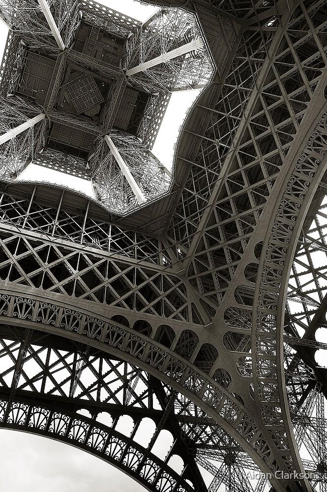 Up the Eiffel by Aidan Clarkson