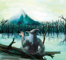 Gandalf and Mirkword by Matt Morrow