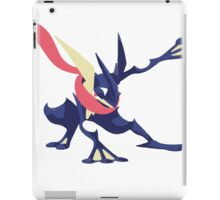 Minimalist Greninja from Super Smash Bros. 4  iPad Case/Skin