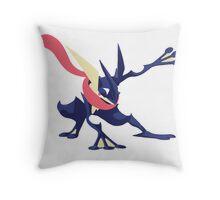 Minimalist Greninja from Super Smash Bros. 4  Throw Pillow