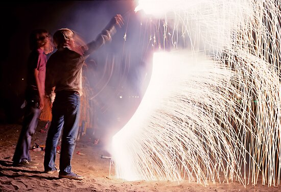 Boys on the Fourth of July by Mark Ramstead