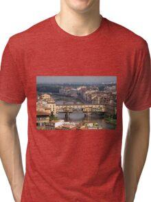 Ponte Vecchio - Florence, Italy Tri-blend T-Shirt
