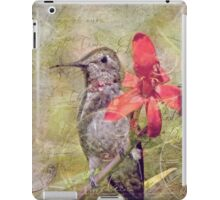 The Beauty Of Time iPad Case/Skin