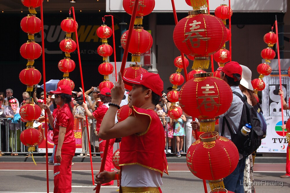 Chinese New Year in Sydney by LeanneFleming