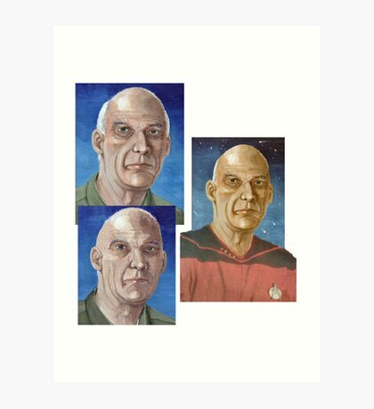 Captain Woodie Picard  Art Print