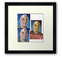 Captain Woodie Picard  Framed Print