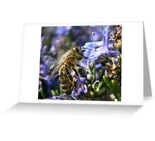 Working Bee. Greeting Card
