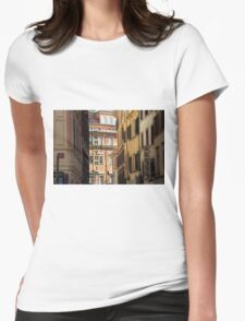 Trattoria - Rome, Italy Womens Fitted T-Shirt
