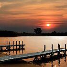 The Orange Night Docks by shellyb