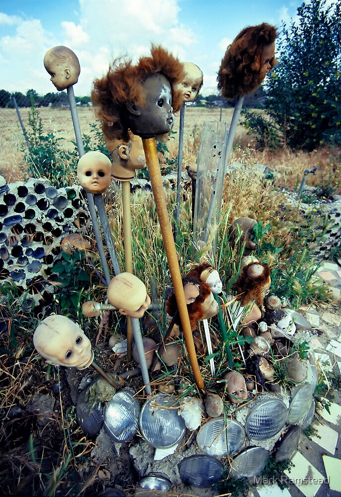 Doll Head Garden by Mark Ramstead