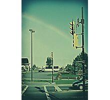stop the rainbow Photographic Print