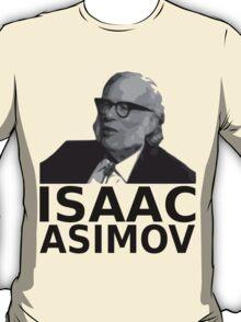 Isaac Asimov Black & White Vector T-Shirt