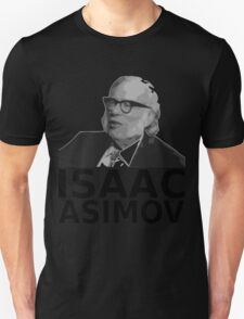 Isaac Asimov Black & White Vector Unisex T-Shirt