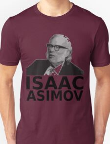 Isaac Asimov Black & White Vector Unisex T-Shirt