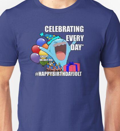 Happy Birthday Jolt! Unisex T-Shirt
